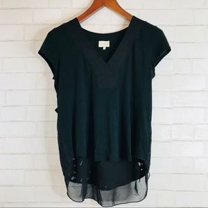 Deletta Anthropologie Top Size Medium